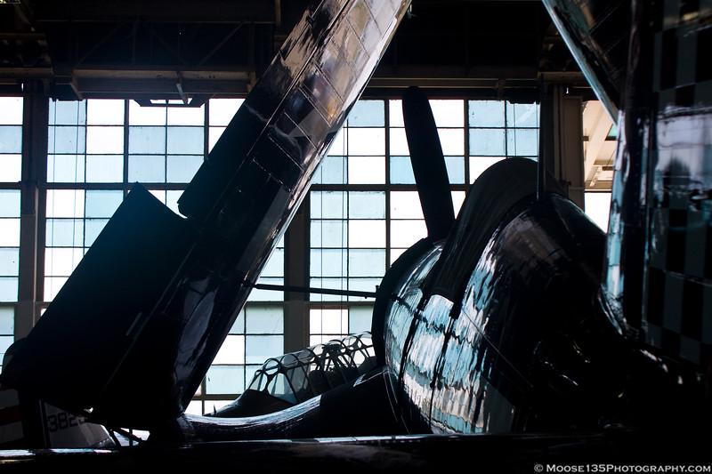 June 25 - Corsair at the American Airpower Museum.