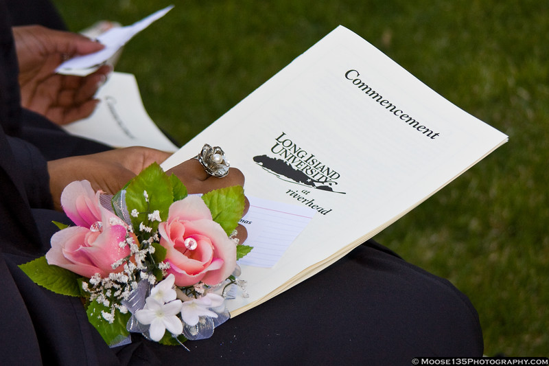 May 10 - Commencement Ceremony at Long Island University Riverhead campus.