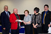 April 28 - The Jericho lodge of the Knights of Pythias make a donation to the Lustgarten Foundation.