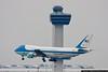April 6 - Air Force 1 brings President Barak Obama to New York City.