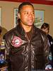 """November 19 - Actor Cuba Gooding, Jr. joined the other stars of the movie """"Red Tails"""" for a promotional photo shoot at the American Airpower Museum.  The upcoming movie tells the story of the Tuskegee Airmen of World War II."""