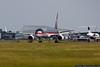 June 16 - Donald Trump's new Boeing 757 at Long Island MacArthur Airport.