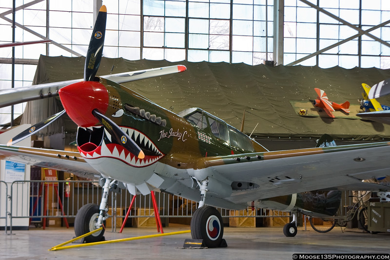 """December 17 - """"The Jacky C"""" at the American Airpower Museum."""