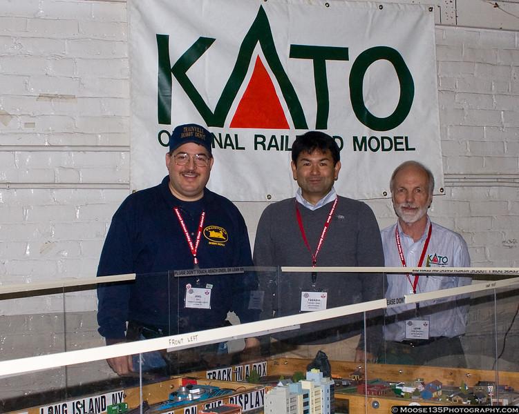 January 29 - At the Amherst Railway Society Railroad Hobby show, Springfield, MA