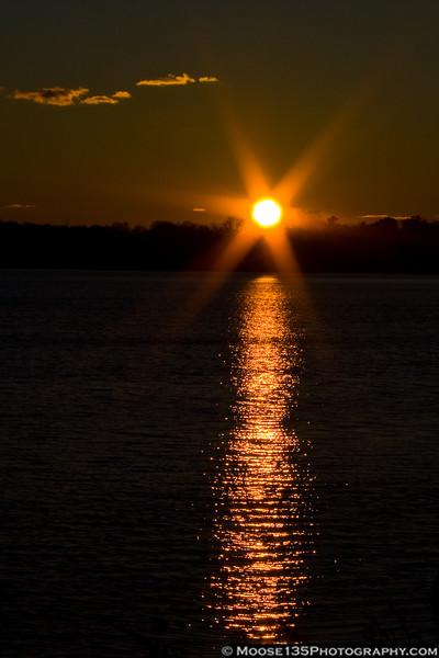 December 26 - Sunset in Glen Cove