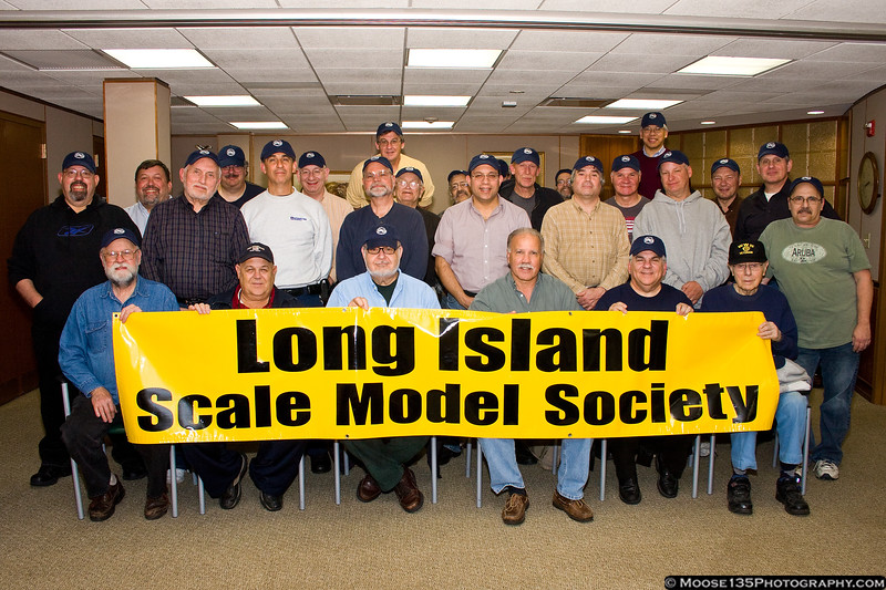 November 21 - The gang's all here! Members of LISMS show off their new club hats.