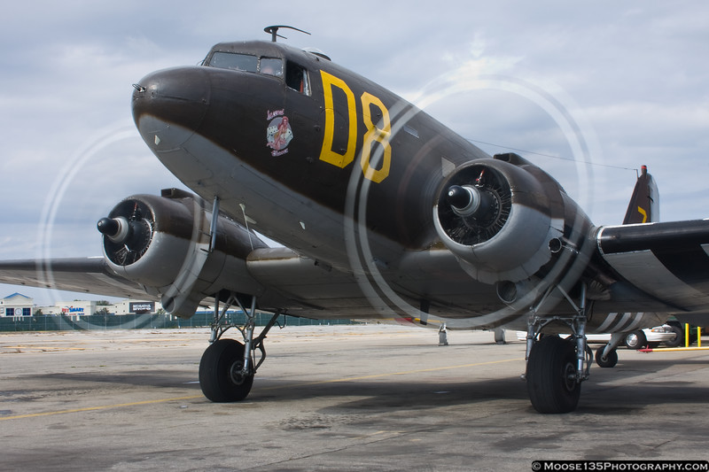 October 1 - C-47 from the American Airpower Museum departing for a D-Day Experience flight.