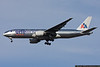 """March 1 - A new month begins with the arrival of this special """"One World"""" scheme American Airlines Boeing 777."""