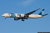 January 4 - First spotting trip of the year catches this EgyptAir Boeing 777
