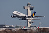 March 27 - Lufthansa A380 departing Kennedy Airport.