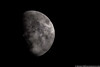 June 10 - Waxing Gibbous Moon over Mountain Top, PA