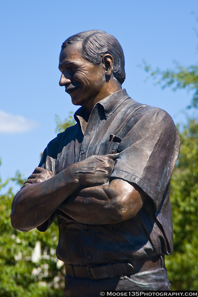 September 9 - Dale Earnhardt Memorial in Kannopolis, NC.