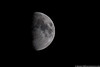August 25 - Tonight's Moon, in memory of the first human to ever walk upon it.  Rest in Peace, Neil Armstrong.