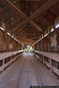 November 10 - Pisgah Covered Bridge is one of only two covered bridges remaining in North Carolina.