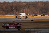 December 29 - Airport rescue vehicles respond to a Delta Airlines A320 which declared an emergency prior to landing at Charlotte.