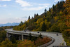 October 6 - Linn Cove Viaduct, an engineering marvel on the Blue Ridge Parkway in western North Carolina.