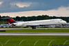 August 19 - Delta Mad Dog beats the approaching storm into Charlotte.