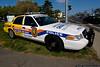 """April 21 - """"Choose your ride.""""  Nassau County Police Department DWI Awareness car."""