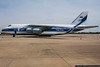 October 26 - The massive Antonov An-124 makes an appearance in Charlotte.