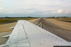 September 28 - Crossing Runway 18C at Charlotte, heading to the terminal and home.