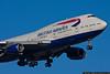 March 11 - British Airways 747 arriving at Kennedy Airport.