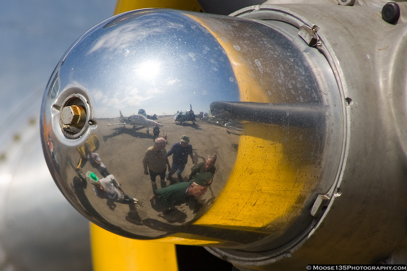 March 17 - Checking out the B-25.