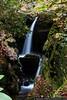 October 14 - Duggers Creek Falls on the Blue Ridge Parkway.