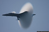 May 26 - Almost supersonic...Super Hornet demo makes a high speed pass, pulling vapor out of thin air.