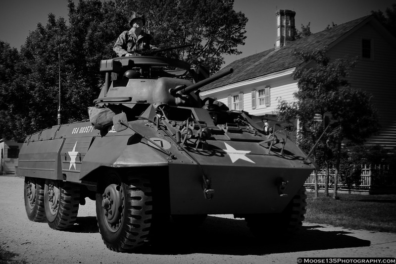 May 19 - Allied forces liberate Old Bethpage Village during the World War II Encampment.