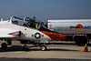 March 18 - Cash or Credit?  Navy T-45C trainer refuels prior to leaving Republic Airport after a weekend visit.