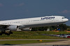 September 22 - Up close and personal with a Lufthansa A340 from Munich, Germany.
