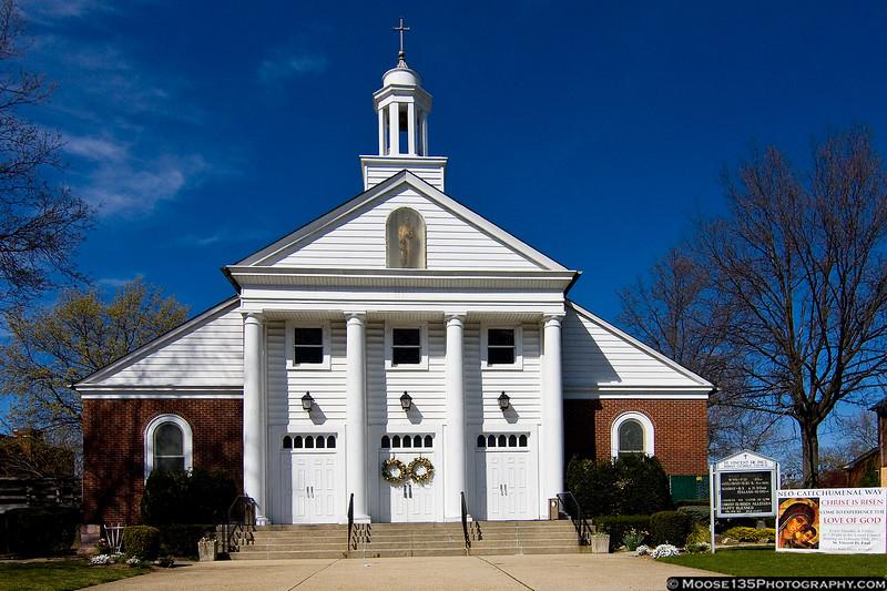 April 8 - St. Vincent de Paul, my old parish church, on Easter Sunday.