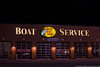 September 24 - Problems with your boat? Take it to the Bass Pro Shops Boat Service Station.