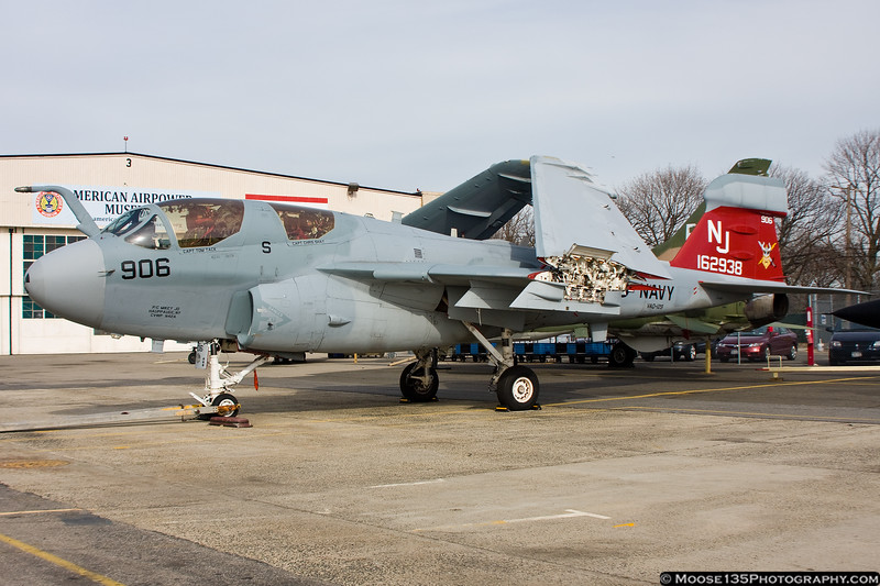 January 29 - Decommissioning complete, Grumman Prowler is now a temporary part of the American Airpower Museum's collection.