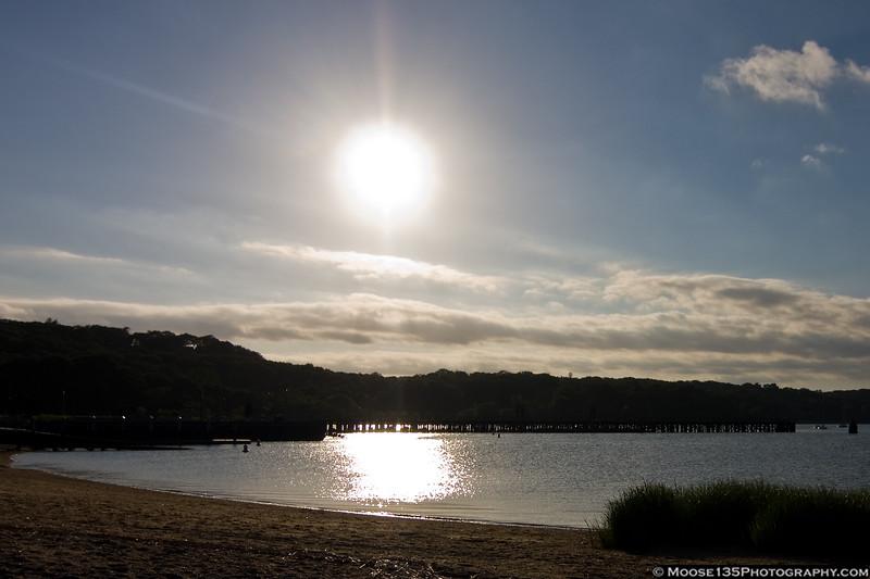 June 17 - Oyster Bay harbor.
