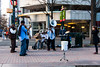 December 8 - Street musicians in Independence Square, uptown Charlotte.