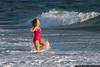 January 1 - Taking a New Year's dip at Jones Beach.