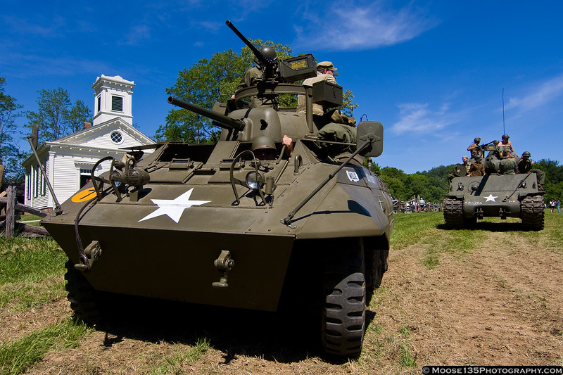 May 20 - At Old Bethpage Village Restoration for the World War II Encampment weekend.