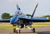 May 23 - Blue Angel 7 returns from a media flight.