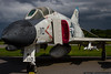 July 7 - Storm clouds gather behind this F-4B at the Hickory Aviation Museum.