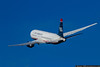 September 27 - US Airways Boeing 767 heading out of town.
