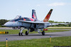 May 26 - RCAF Hornet Demo aircraft gives us an up close and personal look.