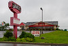 June 10 - Soul-crushing disappointment - after looking forward to their breakfast bar for my entire trip, I found the Shoney's in Martinsburg, WV had been closed...