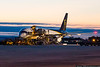 December 24 - As the sun comes up on Christmas Eve, how many last minute gifts are being loaded on this UPS 757?