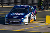 January 18 - Defending NASCAR Sprint Cup Series champion Brad Keselowski takes to the track during preseason testing at the Charlotte Motor Speedway.