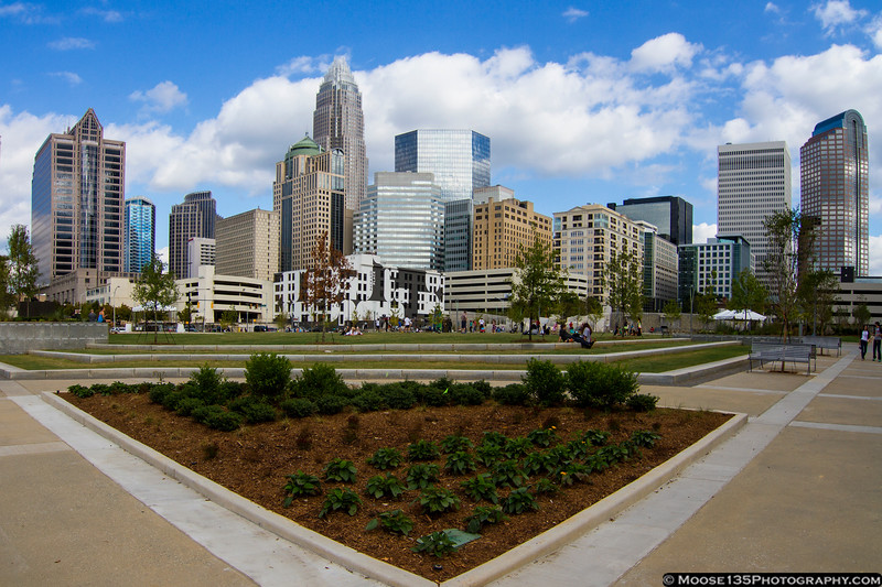 September 29 - Romare Beardon Park in Charlotte.