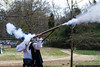 March 17 - Demonstrating a musket during the Celtic Festival at Latta Plantation.