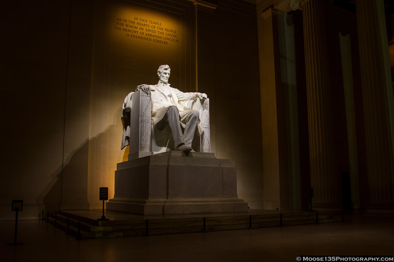 May 19 - 3AM, hanging with Mr. Lincoln.