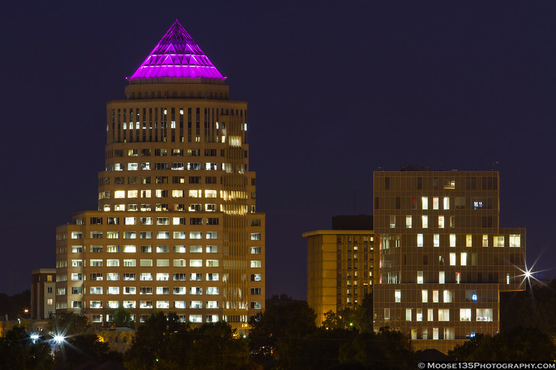 October 16 - Odell Plaza in Uptown Charlotte