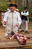 January 12 - Butchering a hog at Historic Brattonville.